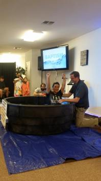 Baptisms@Crosspoint