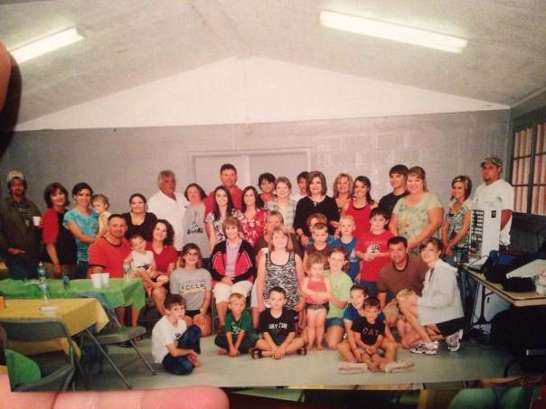Francis Family reunion a few years ago.