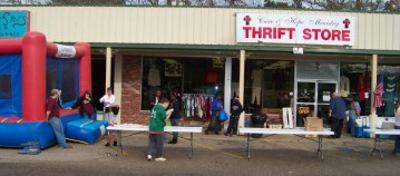 Compassion Ministry: Care & Hope Thrift Store in Bastrop