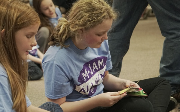MJam is a Missions Experience for kids grades 1-6 where they get to meet missionaries and learn about joining God on mission in the world.