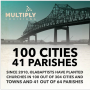 100 Cities, 41 Parishes